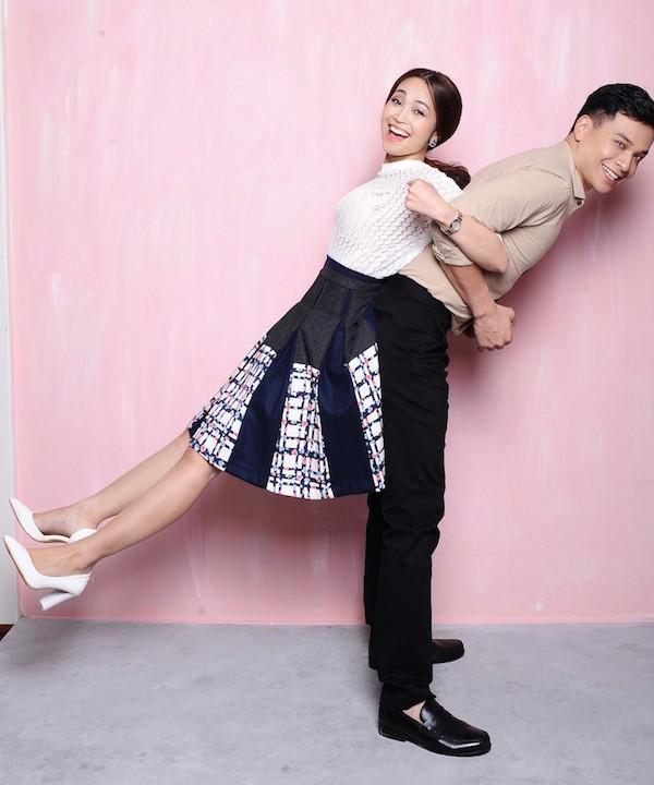 """Cặp MC Danh Tùng và Thùy Linh về cùng """"một nhà"""" ảnh 8"""