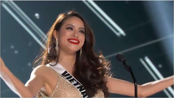 Ăn mì tôm, Phạm Hương sút 3kg khi chuẩn bị bước vào đêm chung kết Hoa hậu Hoàn vũ ảnh 2
