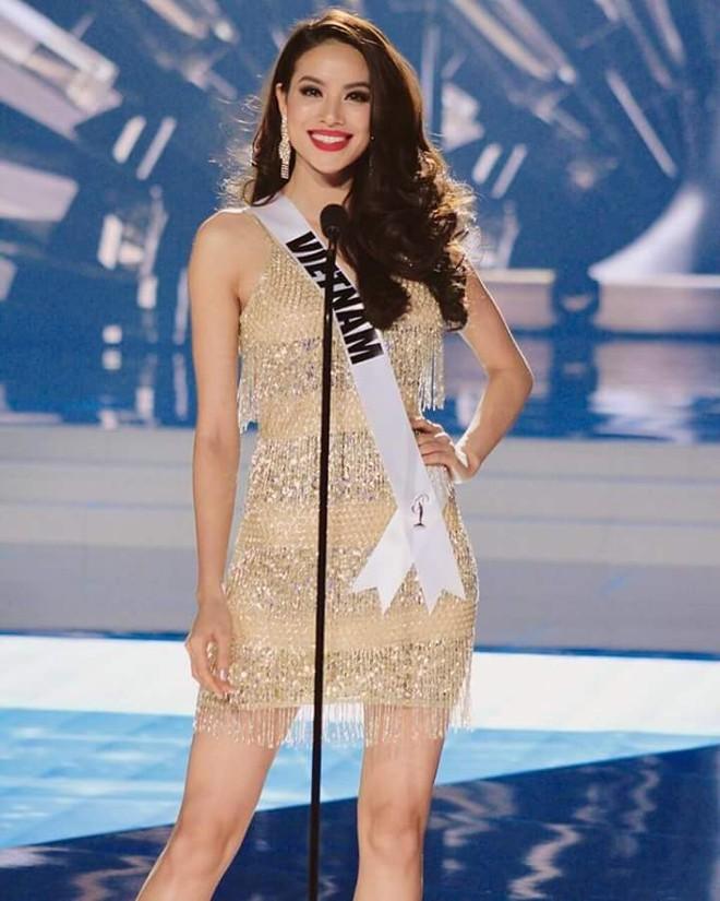 Ăn mì tôm, Phạm Hương sút 3kg khi chuẩn bị bước vào đêm chung kết Hoa hậu Hoàn vũ ảnh 6