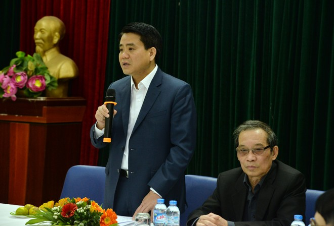 Văn nghệ sĩ trí thức Thủ đô ấn tượng với sự năng động và quyết liệt của Chủ tịch UBND TP Hà Nội Nguyễn Đức Chung ảnh 2