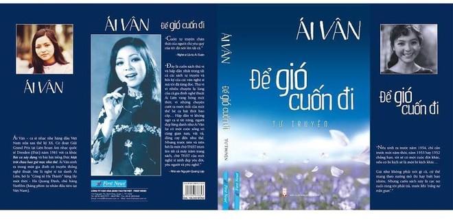 Ca sĩ Ái Vân ra tự truyện ảnh 1