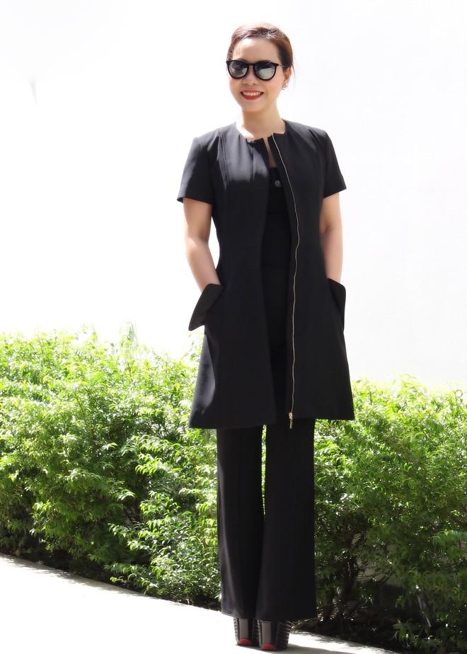 Nữ hoàng Kim Chi phá cách với trang phục vest ảnh 4