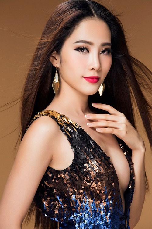 """Nam Em - """"Bản sao"""" Hoa hậu Đặng Thu Thảo thi """"Hoa hậu Trái đất 2016"""" ảnh 2"""