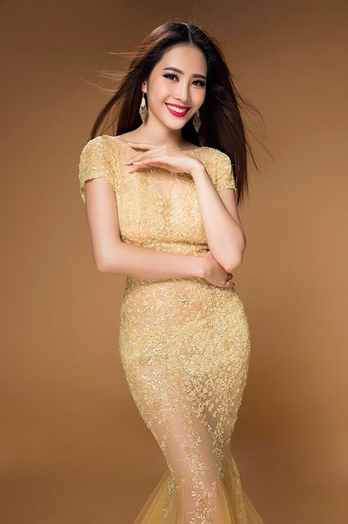 """Nam Em - """"Bản sao"""" Hoa hậu Đặng Thu Thảo thi """"Hoa hậu Trái đất 2016"""" ảnh 4"""