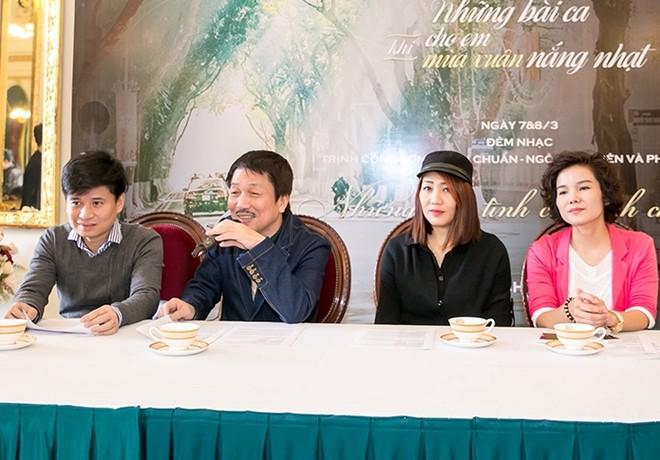 Đồng hành cùng nhạc sĩ Phú Quang trong chuỗi đêm nhạc tới có người cũ như ca sĩ Tấn Minh và cả người mới như ca sĩ Minh Thu...