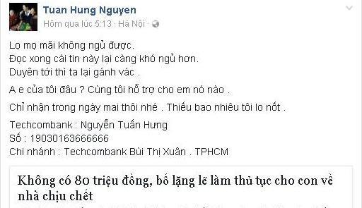 """Hành động khiến Tuấn Hưng xứng đáng là """"soái ca"""" showbiz Việt"""