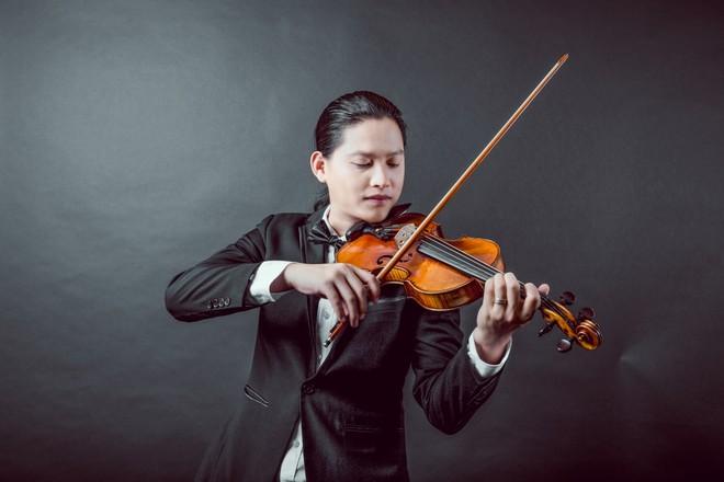 Nghệ sĩ violin Anh Tú