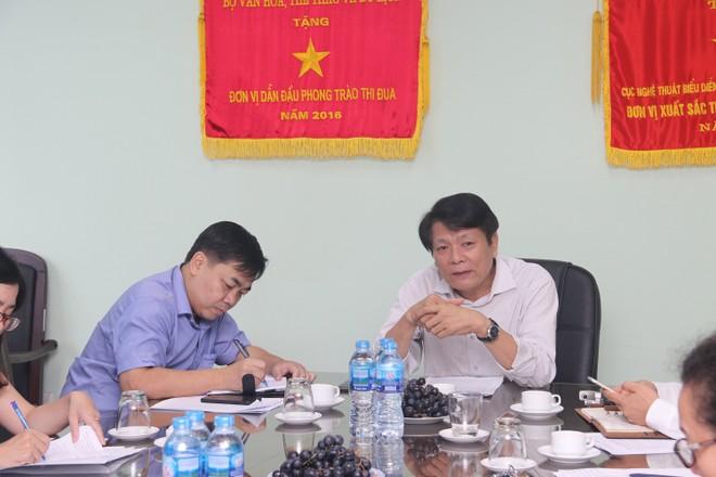NSND Nguyễn Quang Vinh - Quyền Cục trưởng Cục Nghệ thuật Biểu diễn chia sẻ về Liên hoan