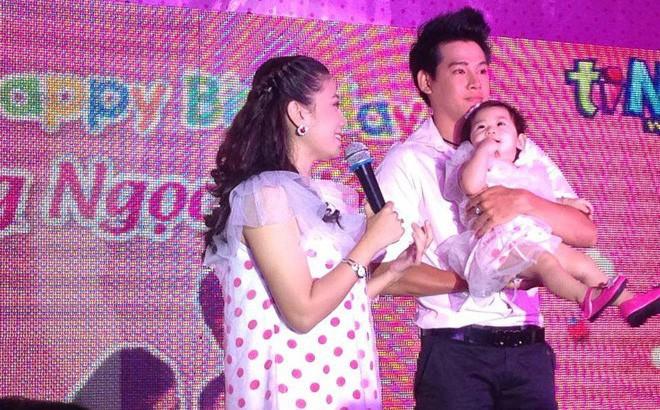 Phùng Ngọc Huy từng cùng Mai Phương tổ chức sinh nhật đầu tiên cho con gái