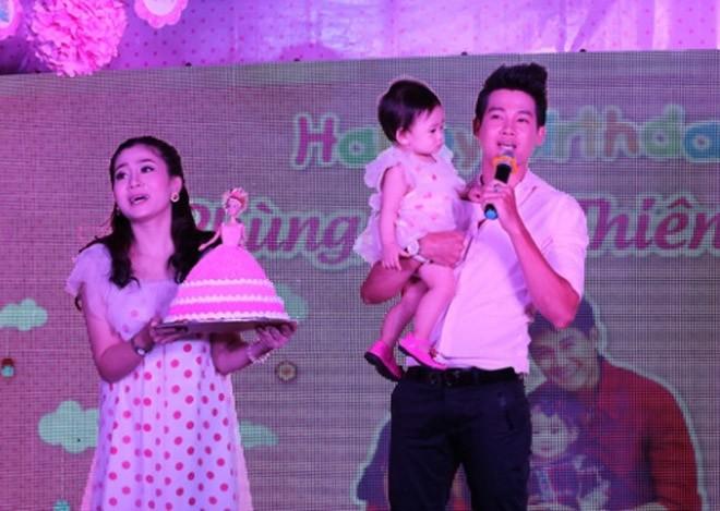 Phùng Ngọc Huy từng cùng Mai Phương tổ chức sinh nhật đầu tiên cho con gái - bé Lavie