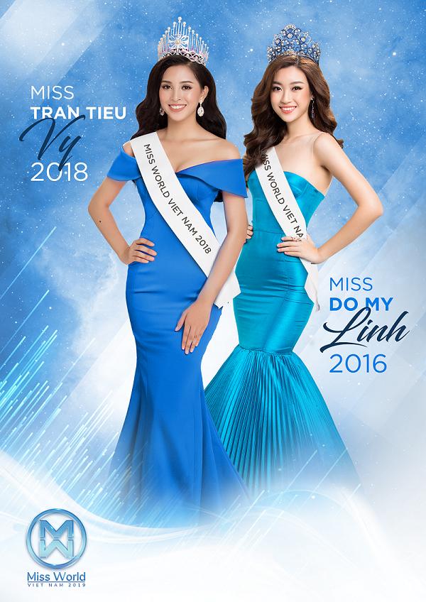 """""""Hoa hậu Việt Nam 2018"""" Tiểu Vy và """"Hoa hậu Việt Nam 2016"""" Đỗ Mỹ Linh"""