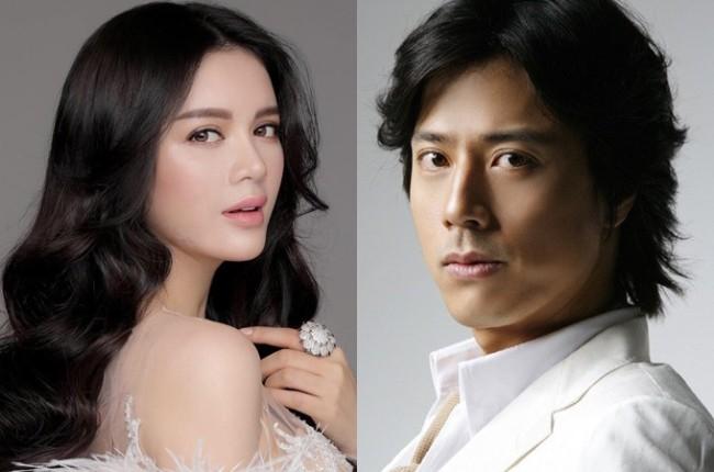 """Lý Nhã Kỳ và tài tử Han Jae Suk vào vai chính trong """"Thiên đường"""". Cả hai đều lên tiếng """"tố"""" nhà sản xuất Nguyễn Hoàng Hạnh Nhân nợ tiền và vô trách nhiệm."""