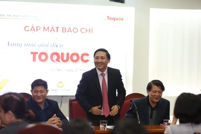 Ông Nguyễn Thanh Liêm - Tổng biên tập Báo điện tử Tổ quốc chia sẻ về chương trình