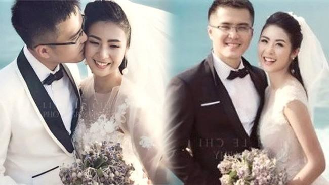 Người bạn trai lạ mặt từng xuất hiện trong bộ ảnh cưới với Ngọc Hân vào năm 2017