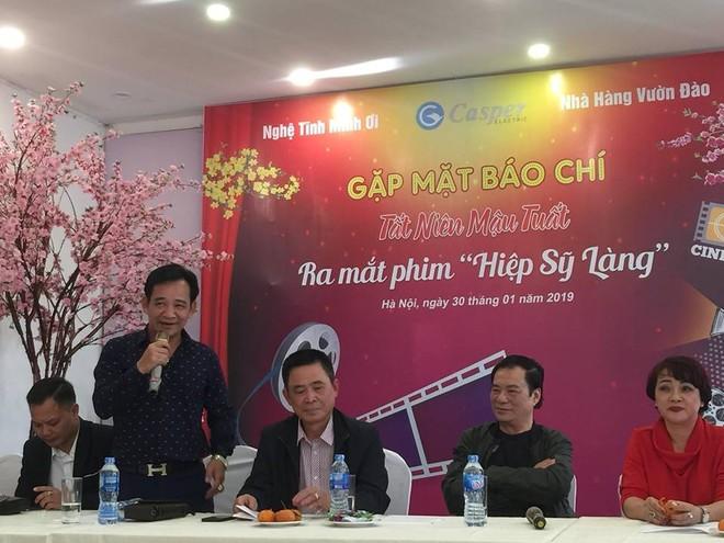 """NSƯT Tiến Quang (Quang Tèo) hào hứng giới thiệu về bộ phim """"Hiệp sỹ làng"""""""