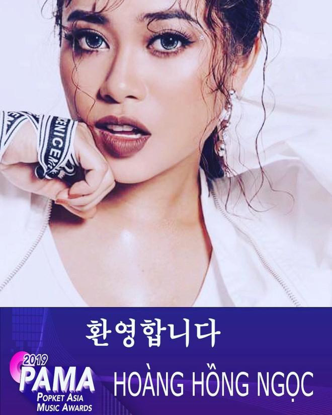 """Hoàng Hồng Ngọc được vinh danh ở giải """"Most Wanted Singer"""" trong khuôn khổ giải PAMA 2019"""