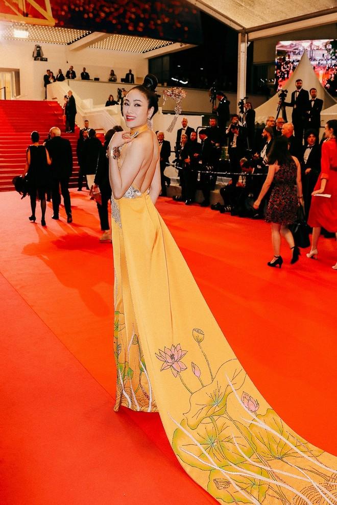 Mỹ nhân Việt gây chú ý trên thảm đỏ LHP Cannes với phong cách đối lập Ngọc Trinh ảnh 9