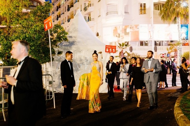 Mỹ nhân Việt gây chú ý trên thảm đỏ LHP Cannes với phong cách đối lập Ngọc Trinh ảnh 12
