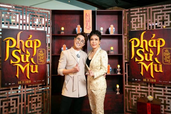Huỳnh Lập và nghệ sĩ Việt Hương