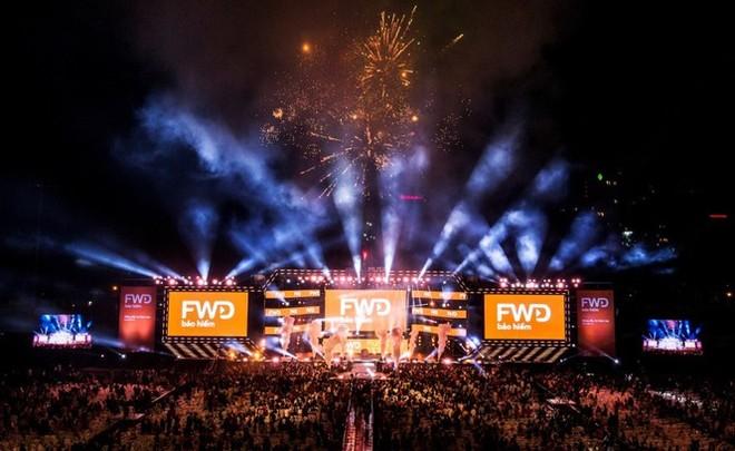 """""""FWD Music Fest 2018"""" tổ chức tại TP.HCM được xem là một trong những chương trình quy mô và ấn tượng nhất trong năm"""