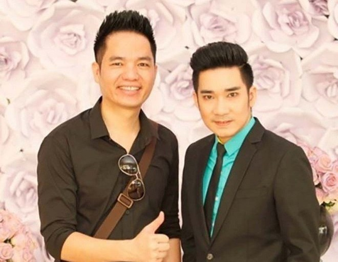 Quang Hà và anh trai kiêm người quản lý - Quang Cường