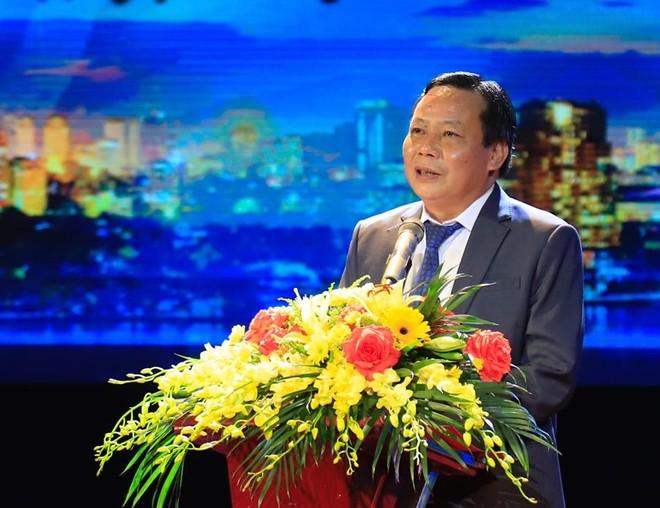 Đồng chí Nguyễn Văn Phong phát biểu tại lễ trao giải