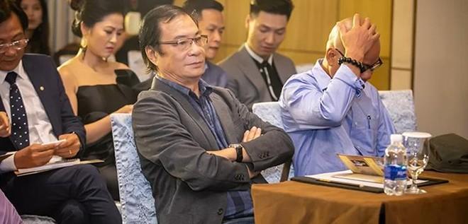 """Đạo diễn NSND Khải Hưng tại buổi họp báo ra mắt phim """"Sinh tử"""""""