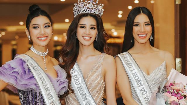 """Top 3 """"Hoa hậu Hoàn vũ Việt Nam 2019"""""""
