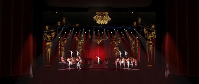 Sân khấu Q-Show 2 của Lệ Quyên