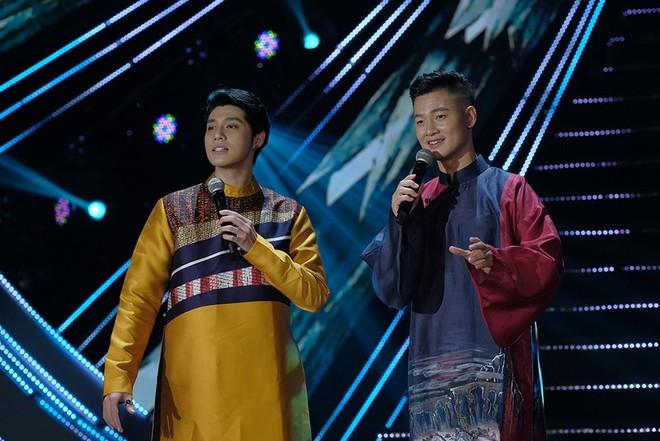 Đức Tuấn và Noo Phước Thịnh lần đầu tiên song ca với nhau trong chương trình