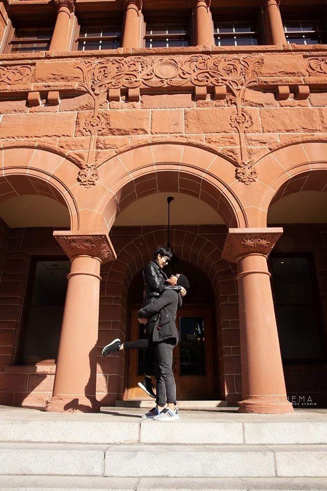 Siêu mẫu Xuân Lan đăng ký kết hôn và tổ chức lễ báo hỷ tại Mỹ