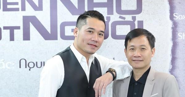 Tuấn Hiệp và người bạn thân - nhạc sĩ Nguyễn Quang Long