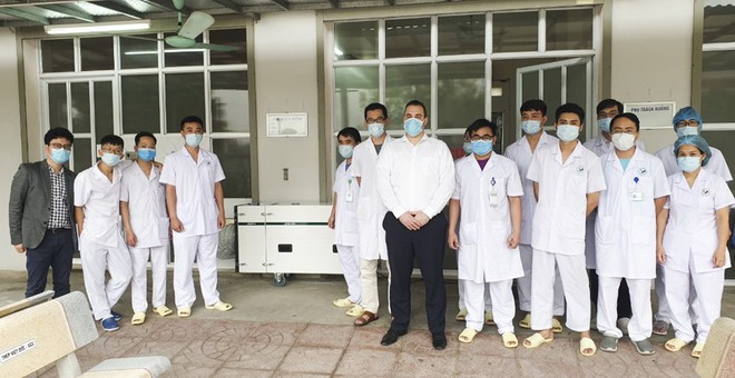 Các thiết bị thiết lập phòng cách ly được chuyển giao tới 3 bệnh viện tại Hà Nội, TP.HCM và Quảng Ninh