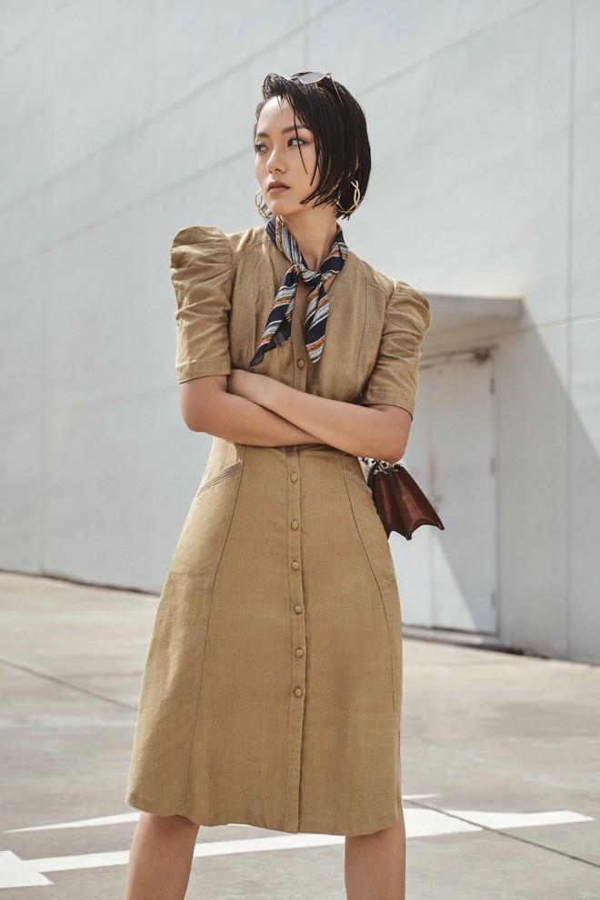 """Nữ chính phim điện ảnh """"Sài Gòn trong cơn mưa"""" làm người mẫu"""