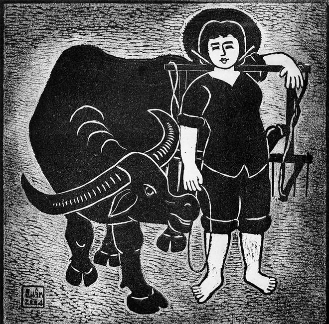 Các tác phẩm của họa sĩ Trần Văn Quân mộc mạc về đề tài nhưng phong phú về thể loại và đặc sắc trong cách thể hiện.
