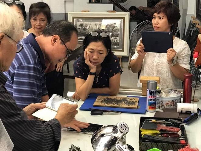 Trần Văn Quân luôn không ngừng chia sẻ kiến thức và lan tỏa cảm hứng nghệ thuật.