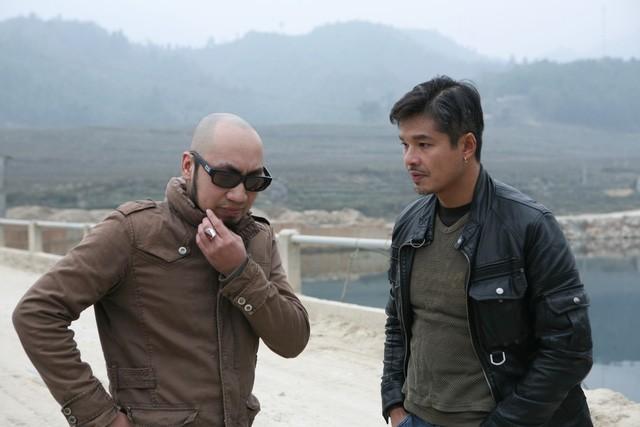 """Lâm Vissay (bên phải) với vai diễn đầu tiên trong phim """"Khi đàn chim trở về"""""""