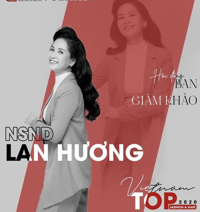 NSND Lan Hương góp mặt trong Ban giám khảo cuộc thi