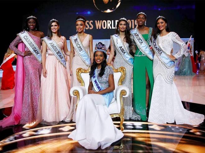 """Các thí sinh giành giải cao nhất tại cuộc thi """"Miss World 2019"""""""
