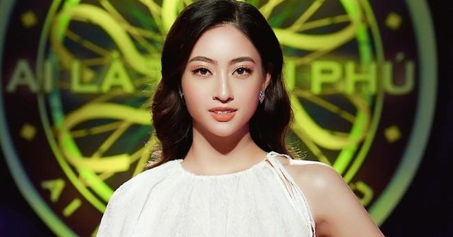 """Hoa hậu Lương Thùy Linh gặp may khi thi """"Ai là triệu phú"""""""