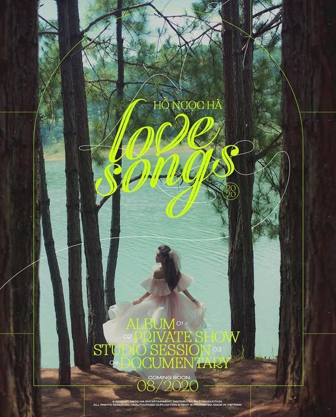 """Tiết lộ về dự án """"Love Songs"""" của Hồ Ngọc Hà"""