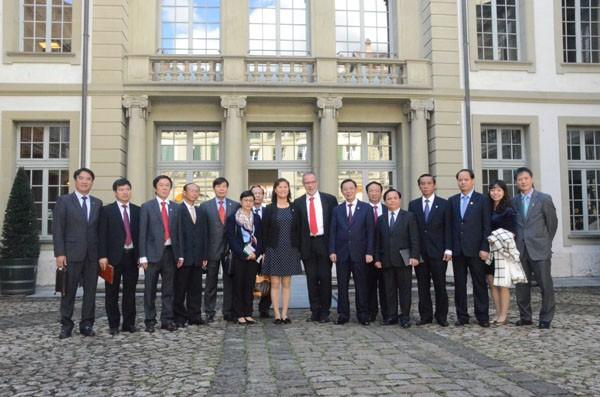 Hà Nội - Geneva tăng cường hợp tác phát triển đô thị