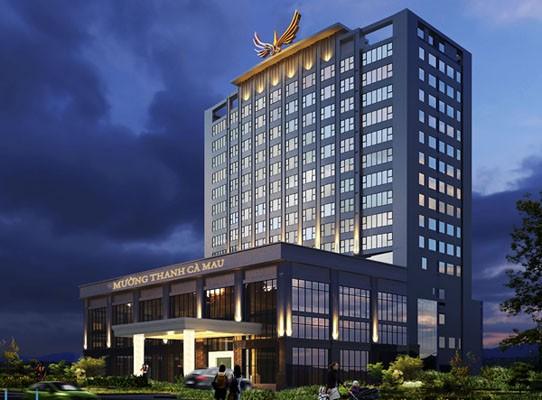 Mường Thanh Luxury Cà Mau được xây dựng theo tiêu chuẩn 5 sao
