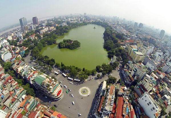 Hồ Hoàn Kiếm là khu vực đặc biệt quan trọng ở trung tâm Thủ đô Hà Nội