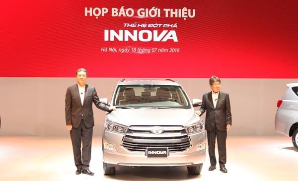 Sau 10 năm, Toyota đã bán được 92.000 chiếc Innova tại Việt Nam