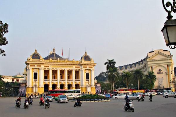 Toàn cảnh Quảng trường Cách mạng Tháng Tám tại trung tâm Hà Nội