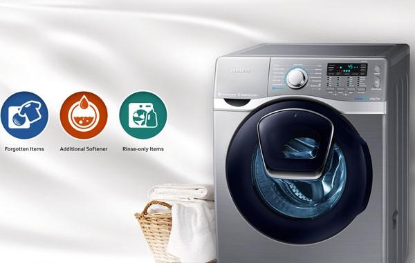Máy giặt Samsung AddWash mang lại nhiều tiện ích cho người tiêu dùng