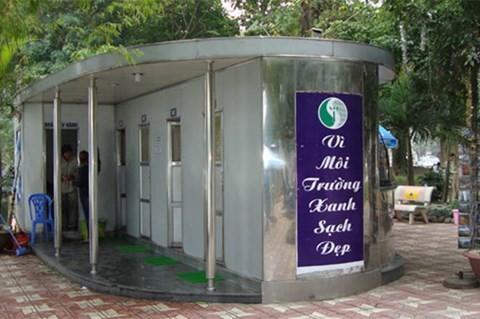 Hệ thống nhà vệ sinh công cộng ở Hà Nội còn rất thiếu