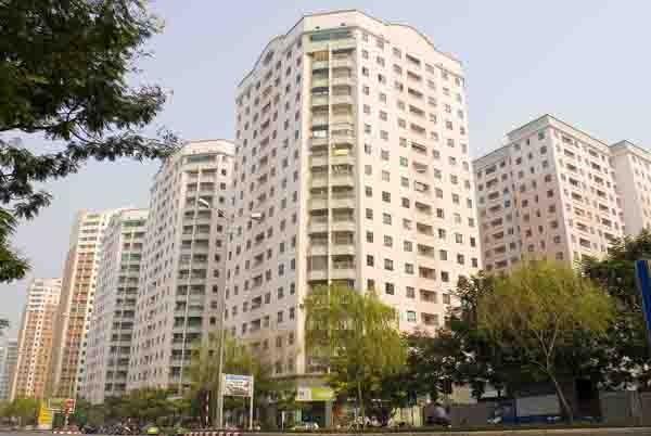 Giá dịch vụ nhà chung cư có thang máy tối đa 16.500 đồng/m2/tháng