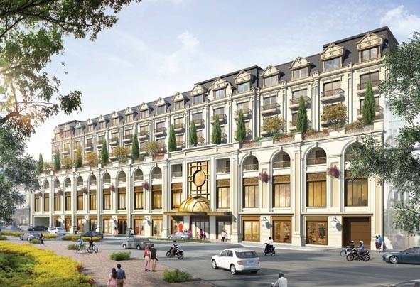 Phối cảnh dự kiến khách sạn 6 sao Four Seasons Hà Nội